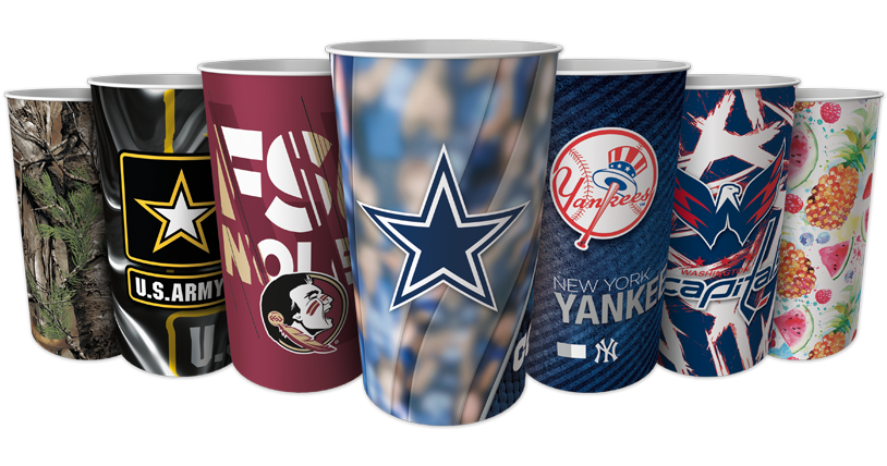 Dynamic Drinkware NFL Cups